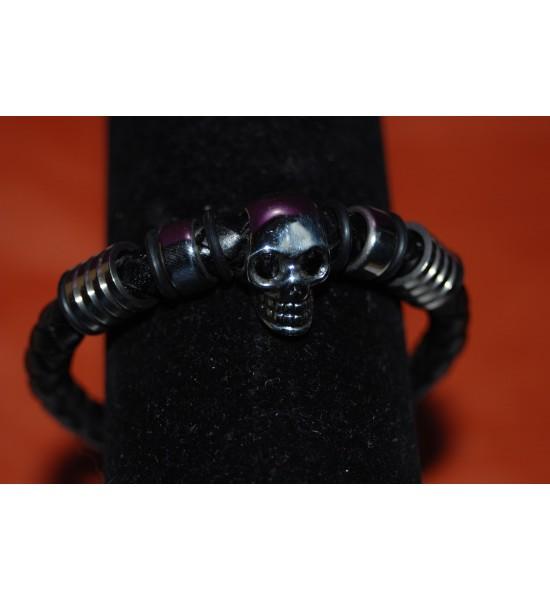 Bracelet tête de mort (2)
