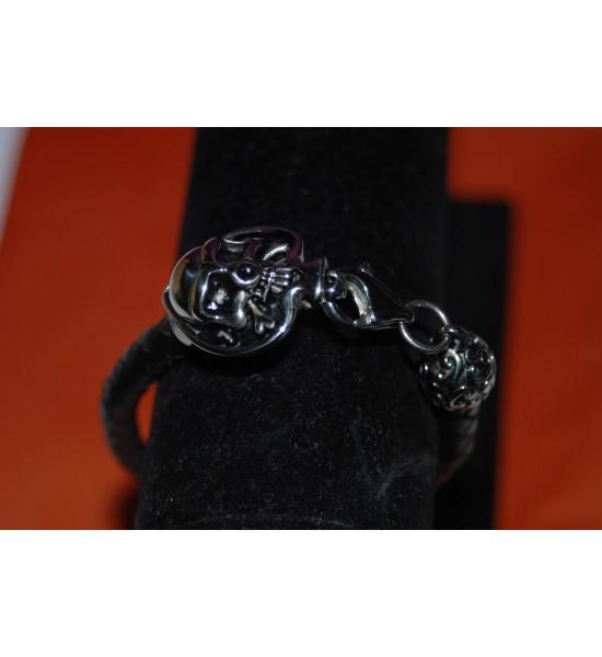 Bracelet tête de mort (5)
