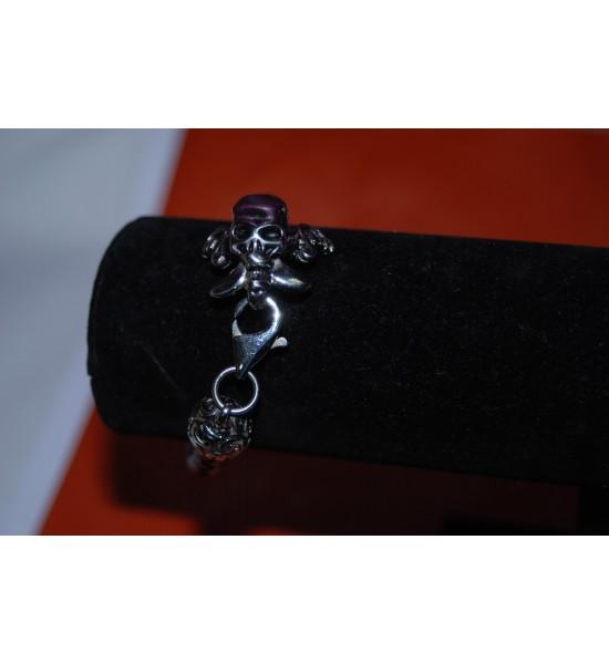 Bracelet tête de mort (8)